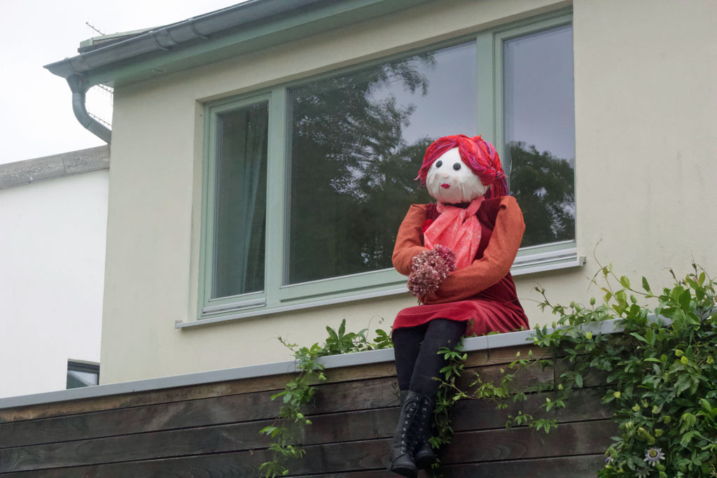 Scarecrows are go!