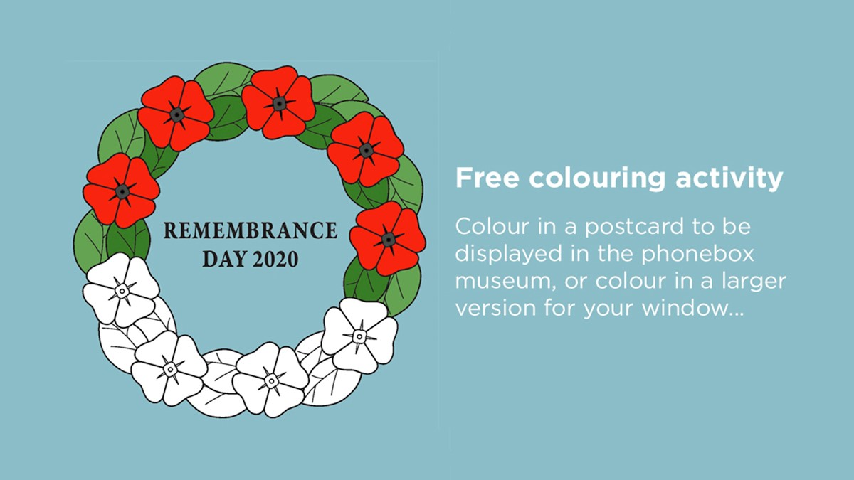 Remembrance Day Colouring Activity